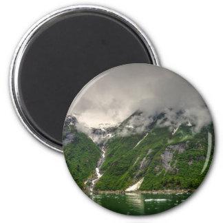 Brazo de Tracy, Alaska Imán Redondo 5 Cm