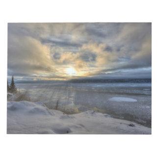 Brazo de Turnagain del solsticio de invierno Blocs De Papel