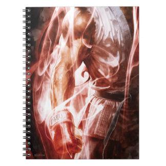 Brazo derecho que brilla intensamente de Ryu Notebook