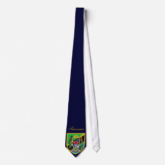 Brazo hermoso de la capa de la bandera de Tanzania Corbatas