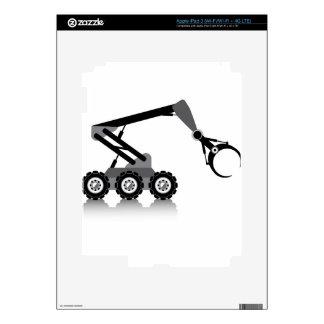 Brazo robótico iPad 3 skin
