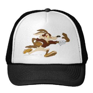 Brazo tieso B W 2 del coyote del Wile E Gorros Bordados