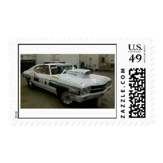 Brazoia County Sheriff's Office Race Car Stamp