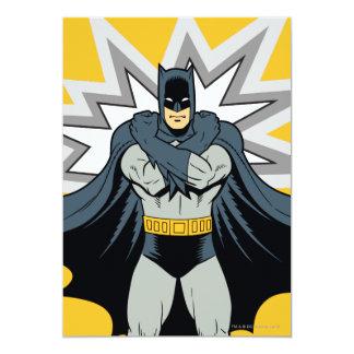 "Brazos cruzados de Batman Invitación 5"" X 7"""