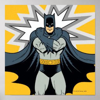 Brazos cruzados de Batman Poster
