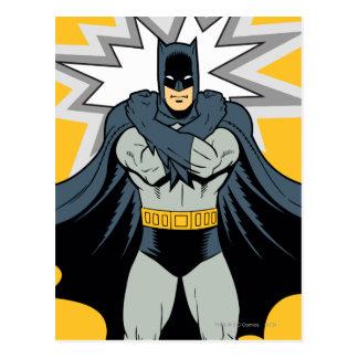 Brazos cruzados de Batman Postal