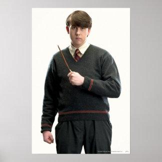 Brazos cruzados Longbottom de Neville Posters