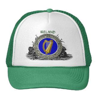 Brazos de Irlanda Gorros Bordados