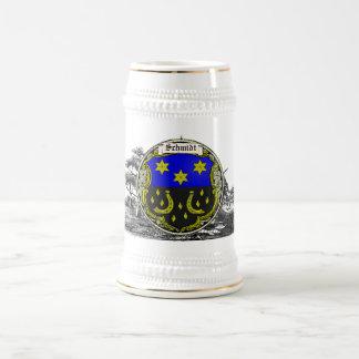 Brazos de la familia de Schmidt (el Saar-Rin) Jarra De Cerveza