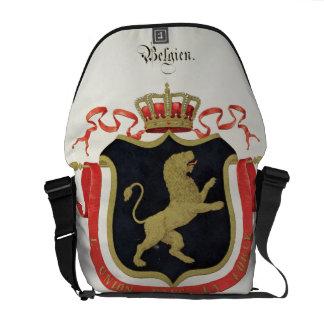 Brazos de la familia real belga de un collectio bolsas de mensajeria
