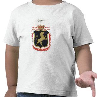 Brazos de la familia real belga de un collectio camisetas