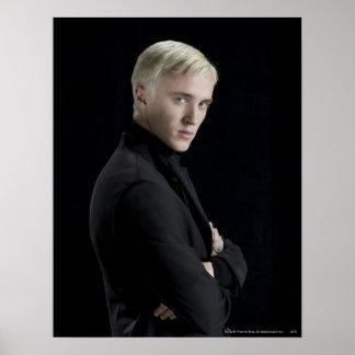 Brazos de Malfoy del Draco cruzados Poster
