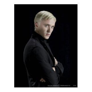 Brazos de Malfoy del Draco cruzados Tarjeta Postal