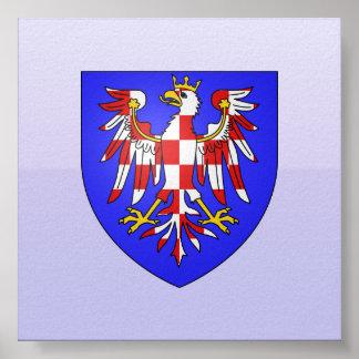 Brazos de Moravia, Hungría Póster