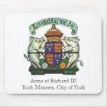 Brazos de Richard III Mousepad Tapetes De Ratones