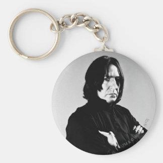 Brazos de Severus Snape cruzados Llavero Redondo Tipo Pin
