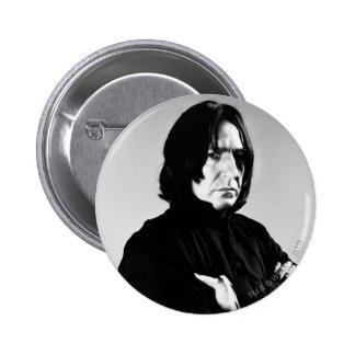 Brazos de Severus Snape cruzados Pin Redondo 5 Cm