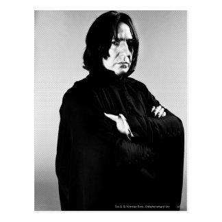 Brazos de Severus Snape cruzados Postales