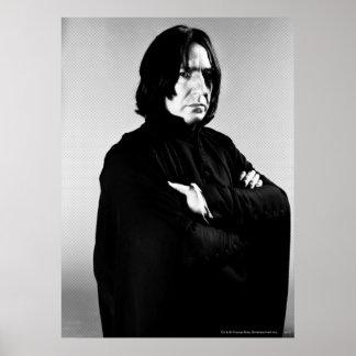 Brazos de Severus Snape cruzados Póster
