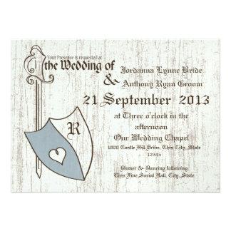 Brazos del boda del renacimiento comunicados personalizados