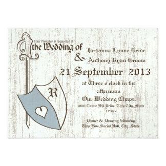 """Brazos del boda del renacimiento invitación 5.5"""" x 7.5"""""""