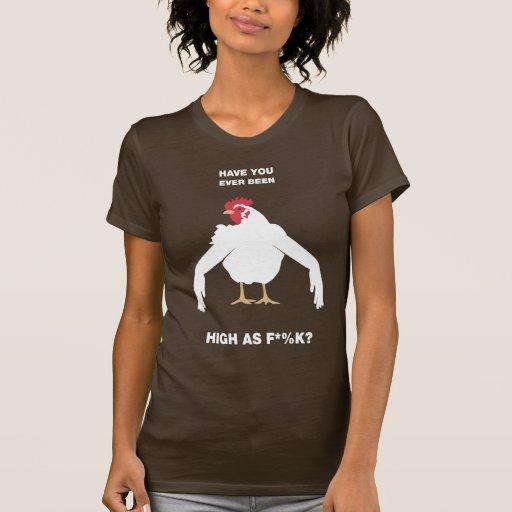 Brazos del pollo camiseta