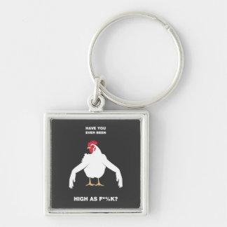 Brazos del pollo llaveros personalizados