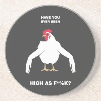 Brazos del pollo posavasos de arenisca