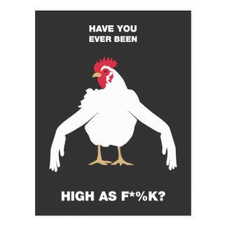 Brazos del pollo postal