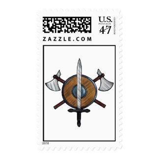 Brazos medievales timbres postales