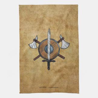 Brazos medievales toallas