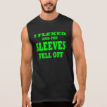 Brazos musculares fuertes enormes camisetas