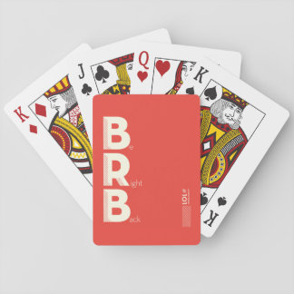 BRB DECK OF CARDS