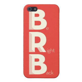 BRB iPhone 5 CÁRCASAS