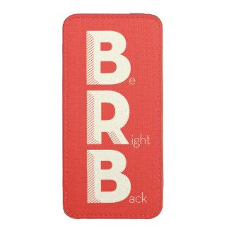 BRB FUNDA PARA iPhone 5