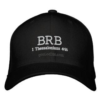 BRB sea lana de gotGod316.com Jesús de la parte tr Gorras De Beisbol Bordadas