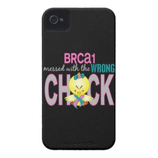 BRCA1 ensuciado con el polluelo incorrecto iPhone 4 Case-Mate Protectores