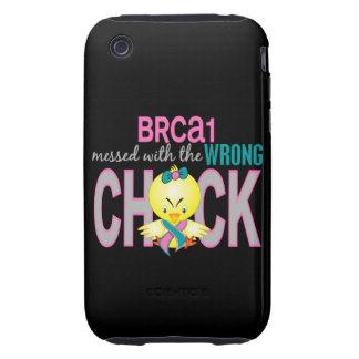 BRCA1 ensuciado con el polluelo incorrecto iPhone 3 Tough Fundas