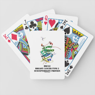 BRCA2 Breast Cancer Type 2 Susceptibility Protein Bicycle Playing Cards