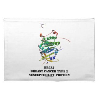 BRCA2 Breast Cancer Type 2 Susceptibility Protein Cloth Placemat