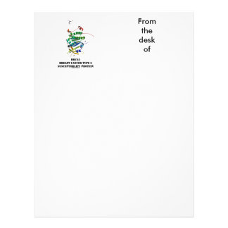 BRCA2 Breast Cancer Type 2 Susceptibility Protein Personalized Letterhead