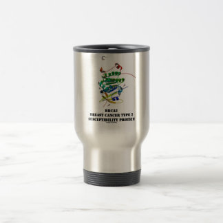 BRCA2 Breast Cancer Type 2 Susceptibility Protein Travel Mug