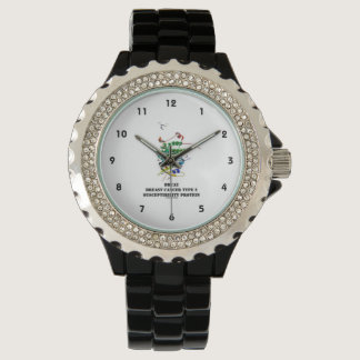 BRCA2 Breast Cancer Type 2 Susceptibility Protein Wrist Watches