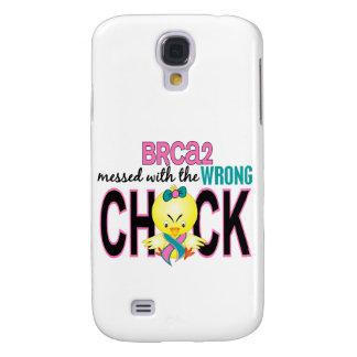 BRCA2 ensuciado con el polluelo incorrecto Funda Para Galaxy S4