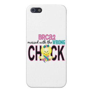 BRCA2 ensuciado con el polluelo incorrecto iPhone 5 Carcasas