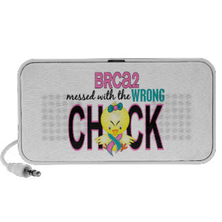 BRCA2 Messed With Wrong Chick Speakers