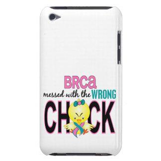 BRCA ensuciado con el polluelo incorrecto iPod Touch Case-Mate Protectores