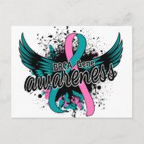 BRCA Gene Awareness 16 Postcard