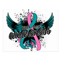 BRCA Gene Awareness 16 Postcard