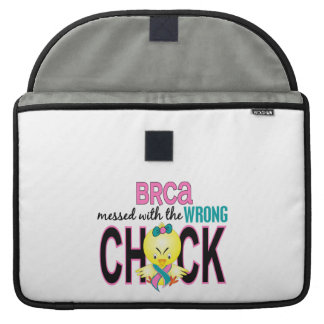 BRCA Messed With Wrong Chick MacBook Pro Sleeves